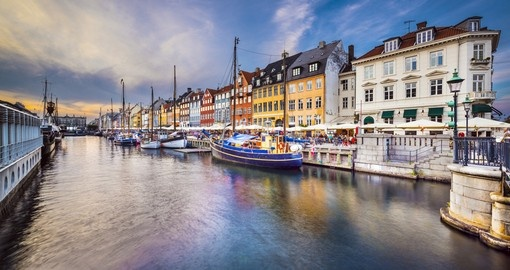 Cruise the Copenhagen canals on your Denmark Tour