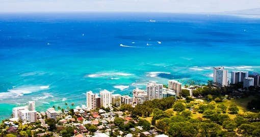 All about blue in Oahu
