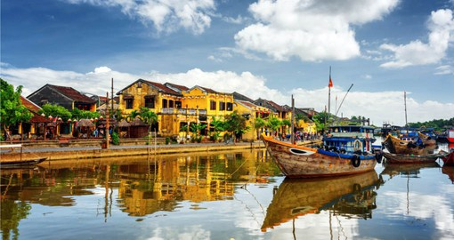 A blend of French, Chinese and Japanese culture, Hoi An is known for it's well preserved Old Town