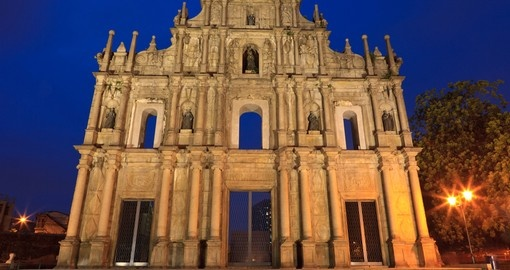 Ruins of St. Pauls in Macau