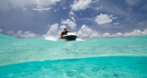 Explore Bora Bora Jet Ski Tour on your next Tahiti vacations.