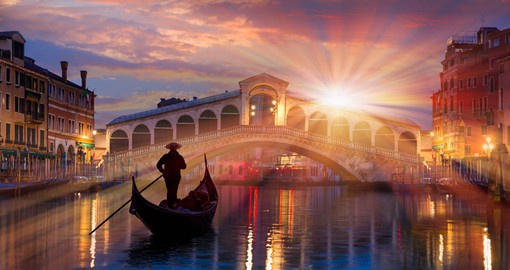 Enjoy the Grand Canal of Venice on your private boat trip
