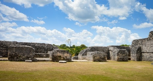 The Mayan Ruins near San Ignacio are a great photo opportunity on your Belize vacation