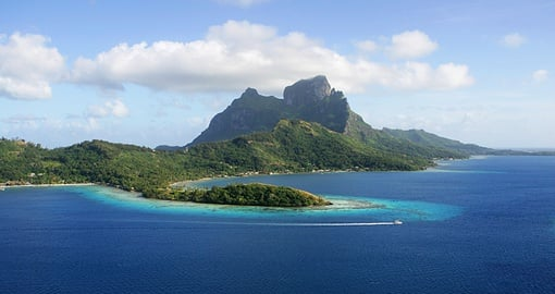 A trip to Tahiti is guarenteed to offer amazing scenert