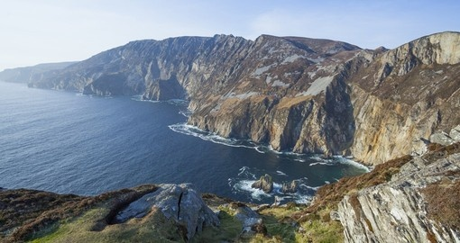 The stunning cliffs of Donegal on your next trip to Europe