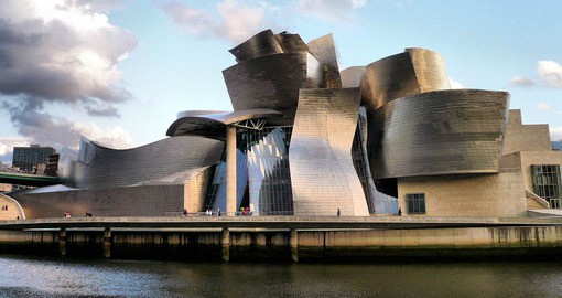 Frank Gehry's Guggenheim Museum Bilbao has been described as the best building of the second half of the twentieth century