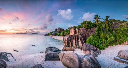 An archipelago of 115 islands in the Indian Ocean, The Seychelles are blessed with exquisite beaches