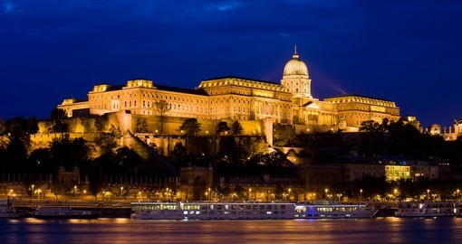 Buda Castle (Royal Palace) by the Danube River - a must inclusion on all Hungary tours.