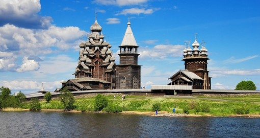 Discover wooden churches of Kizhi Island during your next trip to Russia