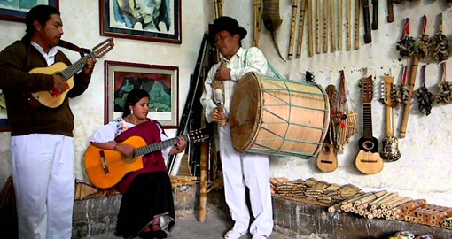 Visit Otavalo Music Village on your Ecuador Tour