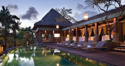 Enjoy all the amenities The Seminyak hotel can offer during your next trip to Bali .