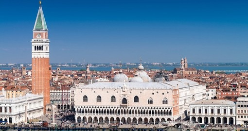 Visit St Mark's Square and take a gondola ride in Venice during your next trip to Italy.