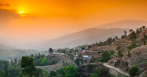 Explore the hillside village of Nagarkot in the Kathmandu Valley on your Nepal Vacations