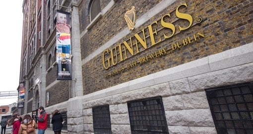 The Guinness Storehouse Brewery