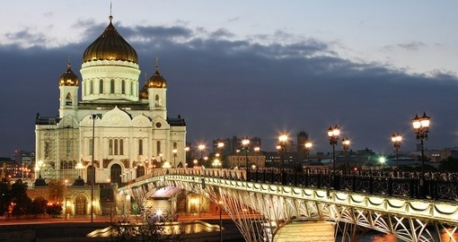 The Cathedral of Christ the Savior - a great photo opportunity while on your Russia vacation.