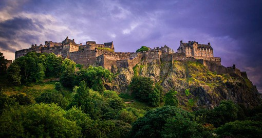 With a rich history as a royal residence, Edinburgh Castle is one of the oldest fortified places in Europe