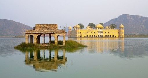 Stay at the luxurious Jal Mahal Palace