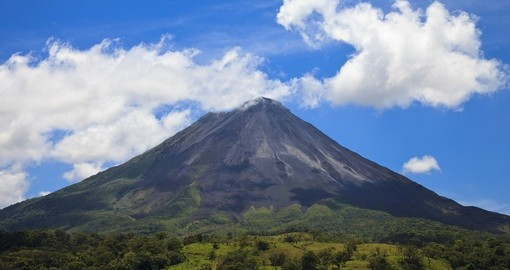 The Arenal Volcano is a highlight of your Costa Rica tour