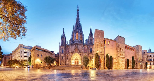 Explore the gothic corner on your trip to Spain