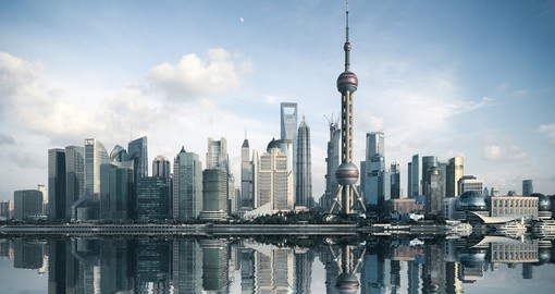 Get swept up in the bustle of Shanghai on your trip to China