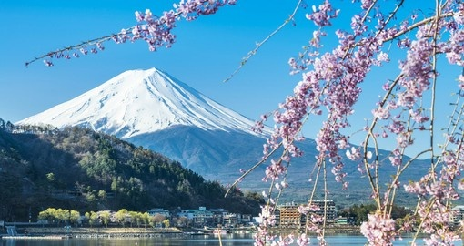 Drive up the mountain side to one of the small villages that are in close proximity to Mount Fuji on your Japanese Vacation
