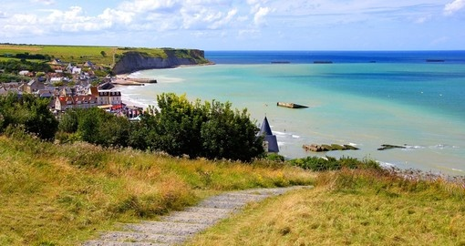 Learn the history of the D-Day beaches on your trip to France