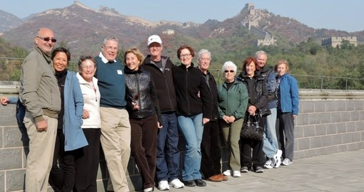 Great Wall Group Photo
