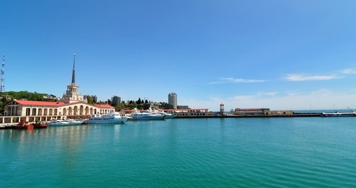 Sea Port in Sochi