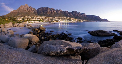 Cape Town is one of many south african tours featured by Goway to offer a stop at Table View