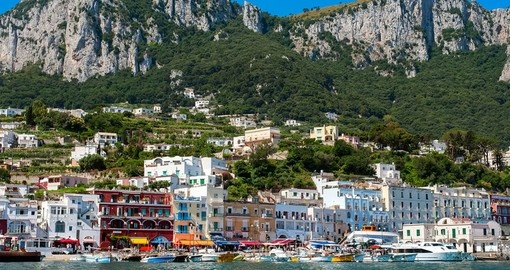 Discover beautiful Capri island in Campania on your next Italy tours.