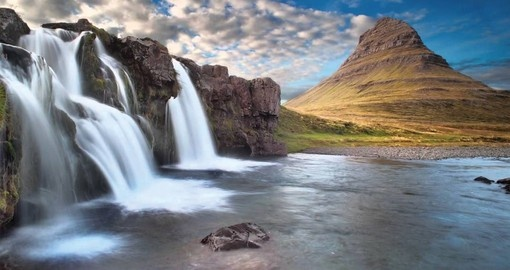 Visit Snaefellsnes Peninsula known for its dramatic scenery o your next trip to Iceland.