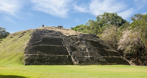 Xunantunich is an ancient Mayan archeological site