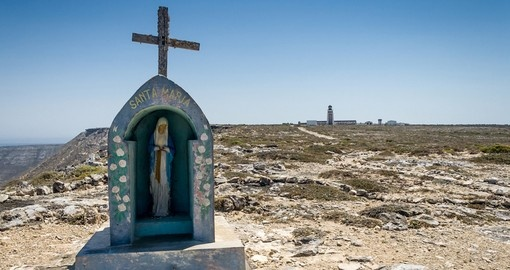 The statue of the Virgin Mary, marking the southern point of Madagascar_1