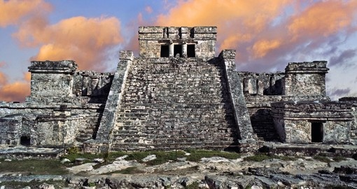 Visit the  Tulum Ruins on your Mexico Vacation