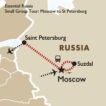 Essential Russia - Small Group Tour: Moscow to St Petersburg
