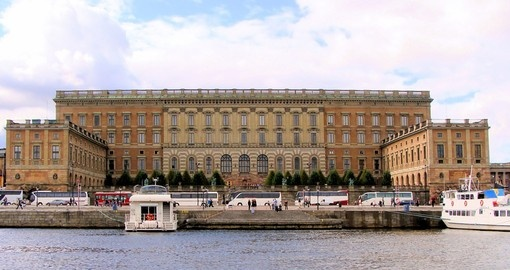 Visit impressive Stockholm Royal Palace during your next Swedish vacations.