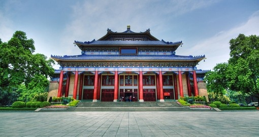 See Sun Yat-Sen Memorial Hall on your China Vacation