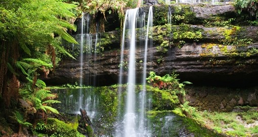 Explore Russell Falls in Tasmania during your next Australia vacations.