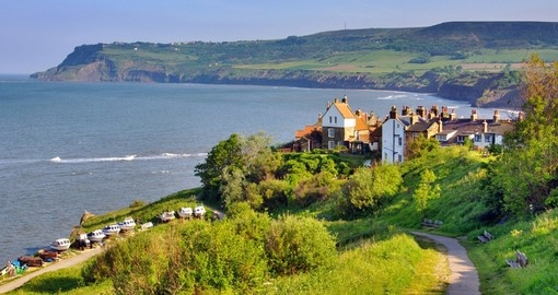 Visit secluded Robin Hood's Bay and have a walk during your next Scotland vacations.