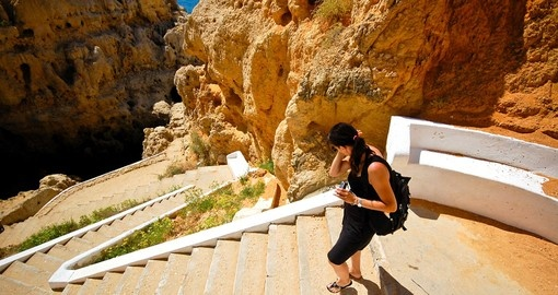 Caves at the Algarve