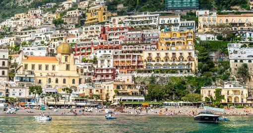 Positano is named after Poseidon, God of the Sea