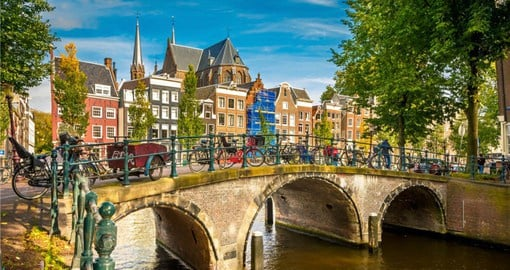 See the historic city of Amsterdam on your European Tour