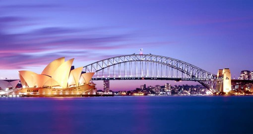 Begin your Australia vacation in Sydney with it's beautiful harbour