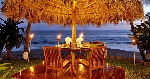 Enjoy Al feresco Dining on your Costa Rica Vacation