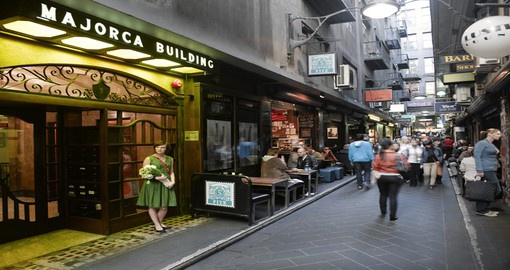 Majorca building in Centre Place, Melbourne