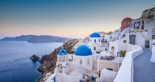 Visit Oia Village on Santorini on your Greek Vacation