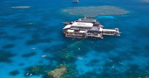Visit the Great Barrier Reef as part of your trip to Australia