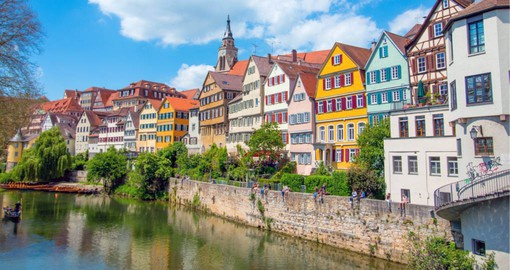 Stuttgart, located on the Neckar River was founded in 950 AD by Duke Liudolf of Swabia to breed warhorses