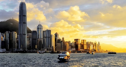 Your China tours concludes with a visit to spectacular Hong Kong