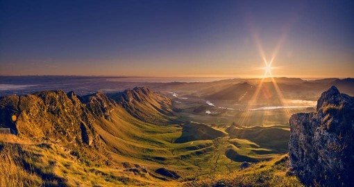 Beauty of the Te Mata peak, near Napier